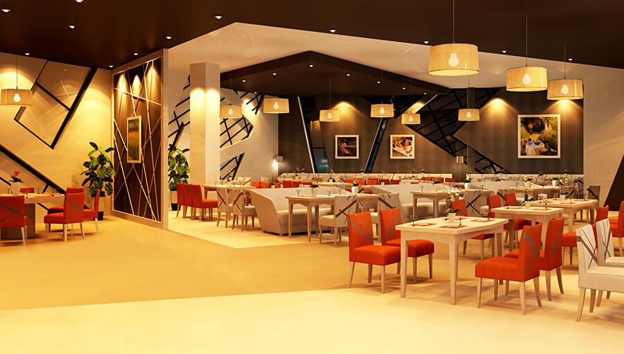 Thiết kế nội thất Bar Quadrilateral